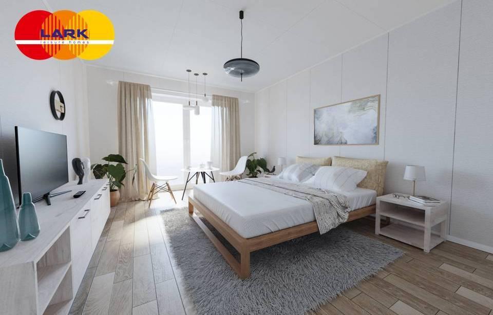 Modulhaus Schlafbereich