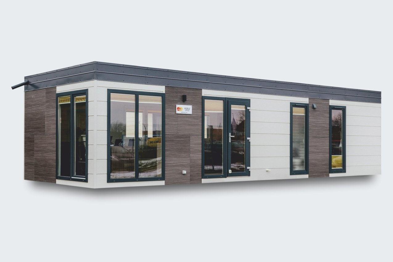Mobilheim als Büro-Modul
