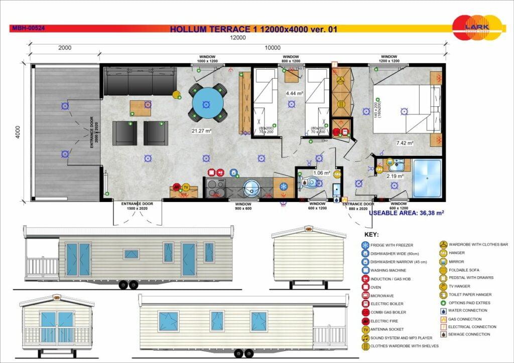 Hollum 1 Terrace 12000x4000