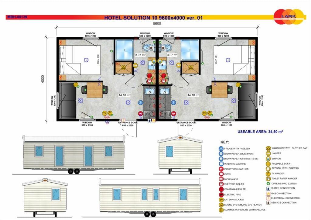 Hotel Solution 10 9600x4000
