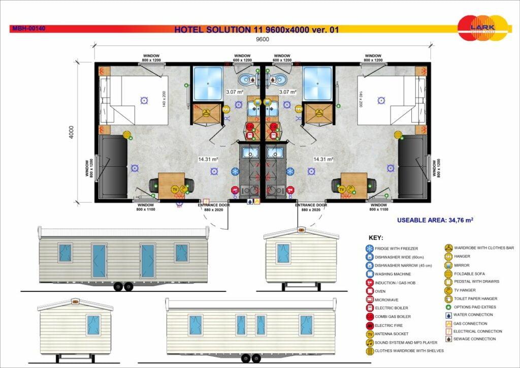Hotel Solution 11 9600x4000