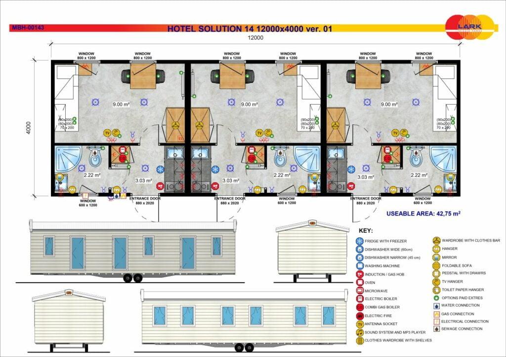 Hotel Solution 14 12000x4000