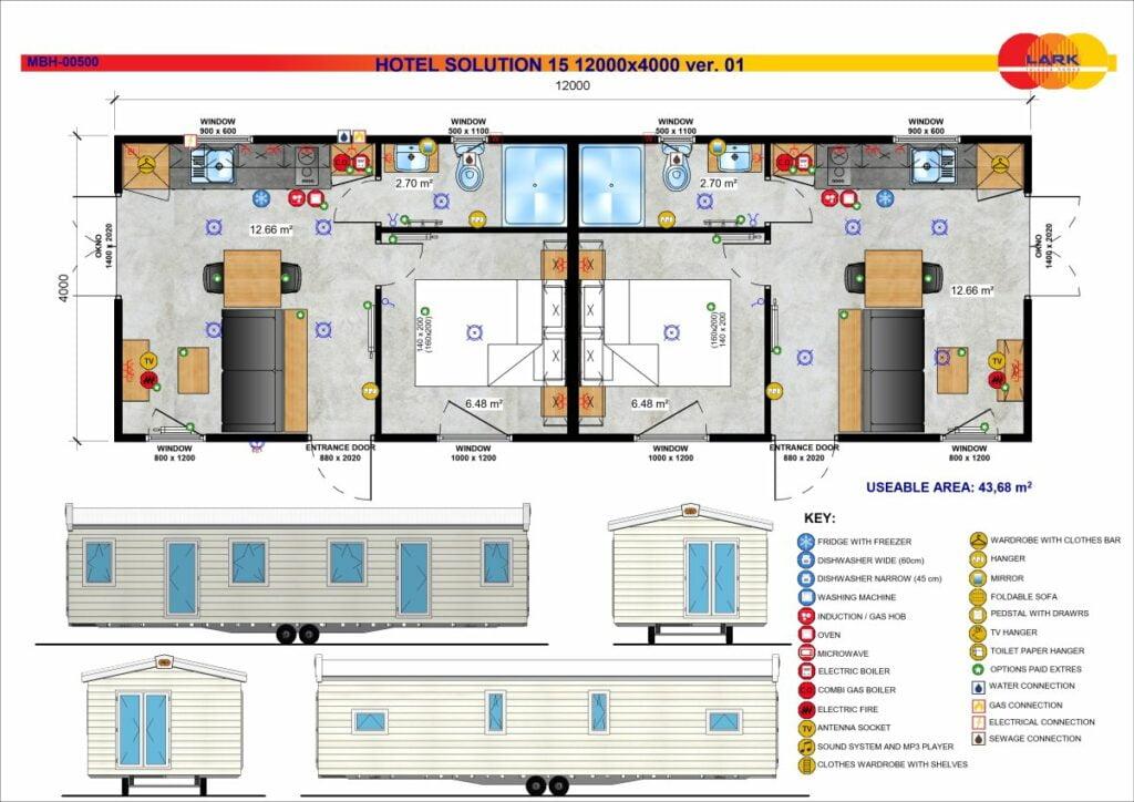 Hotel Solution 15 12000x4000