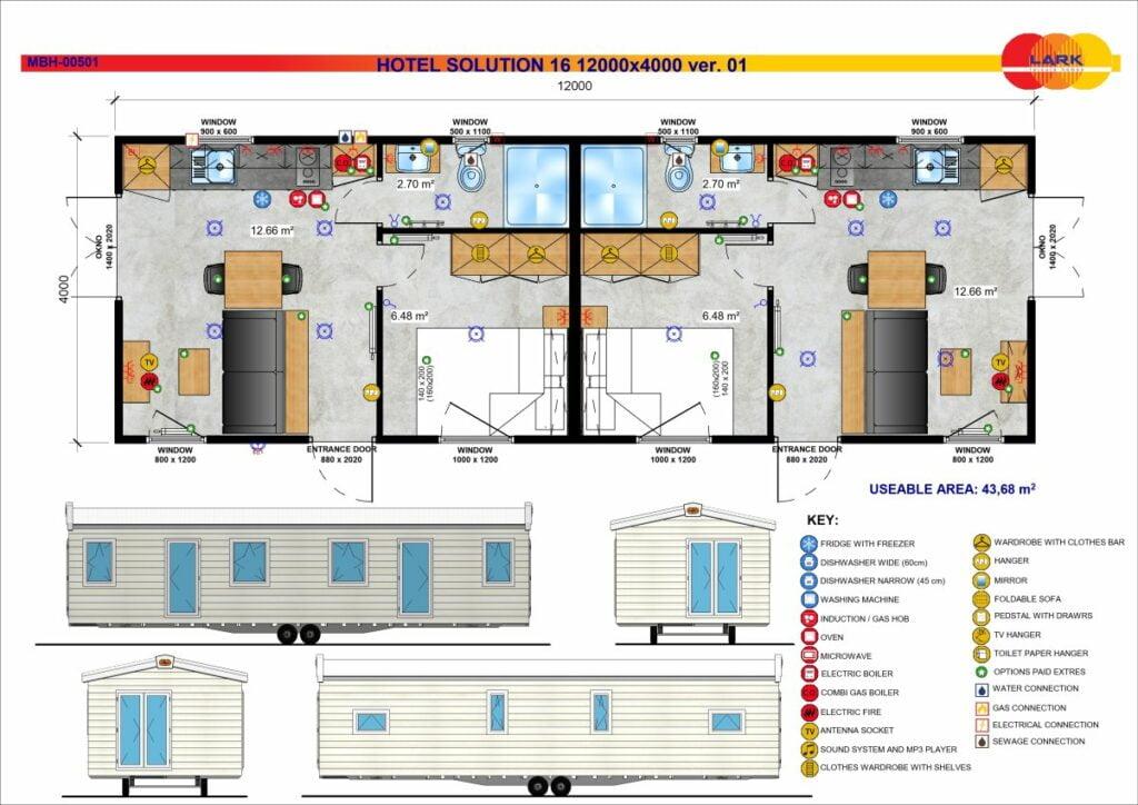 Hotel Solution 16 12000x4000
