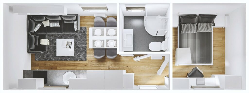 Mobilheim Grande Leone 3D