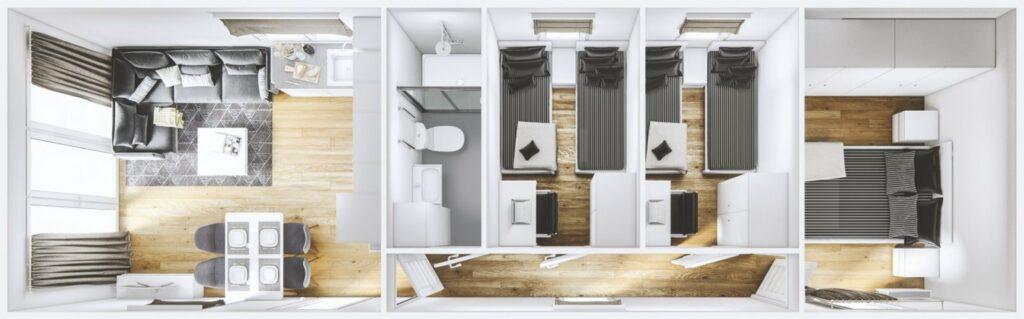 Mobilheim Korfu 3D
