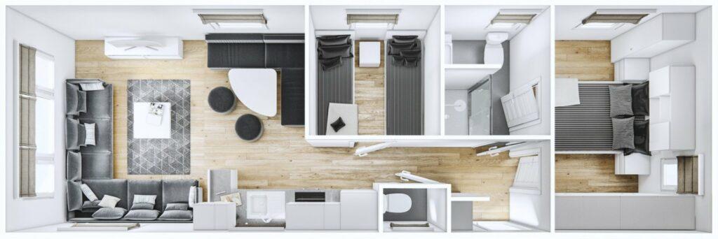Mobilheim Luxury Budget 3D