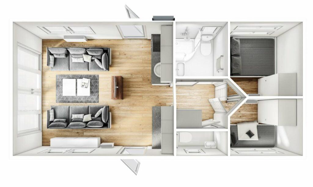 Mobilheim Malta mit Dachterrasse (2)