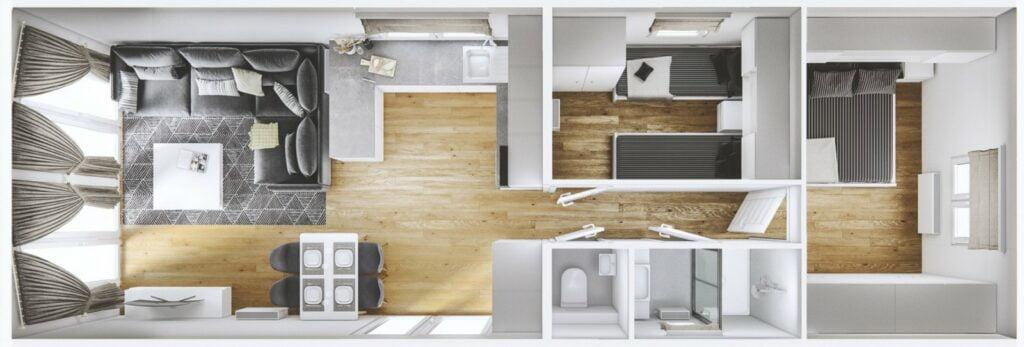 Mobilheim Murano 3D