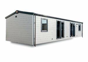 Mobilheim als Unterkunft für Touristen