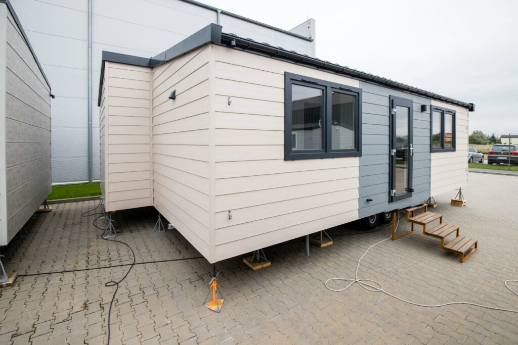 """Modulhaus als Lodge """"Luxembourg"""""""